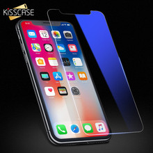 KISSCASE 9H Tempered Glass Film For iPhone X 10 Screen Protector 3D Edge Full Coverage Screen Protectors For iPhone X Protection(China)
