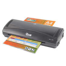 Office Plastic Film Roll Laminator Hot & Cold Dual Use Laminator Machine Professional For A4 Document Photo Picture