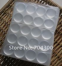20000 pcs 3D DOME CIRCLE 1 inch round clear epoxy sticker for DIY Bottle cap sticker Self Adhesive Resin Dots stickers(China)