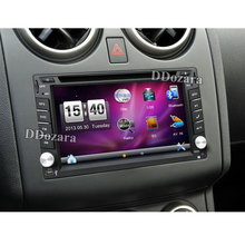2 din car radio gps navigation steering wheel 2din Radio DVD Player Auto In Dash Stereo Video Car Multimedia Player TV(Option)(China)