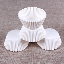 200Pcs/Set Baking Tool For Cake Pure White Colors Cupcake Paper Cup Muffin Cases Cup Kitchen Accessories Pastry Decorating Tools(China)