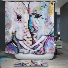 Bathroom Products 180*180CM 3D Shower Curtains Animal Digital Printed Waterproof Washable Bathroom Curtains Home Decoration(China)