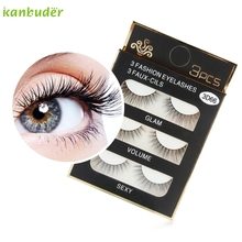 Kanbuder magnetic eyelashes express mink eyelashes synthetic hair faux mink lashes Jan10 dropshipping(China)