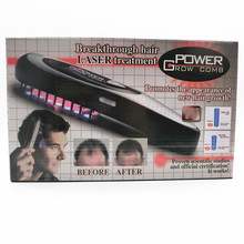 Power Grow Breakthough Hair Growth Laser Treatment Comb Massage Brushes Head Pain Relife Massager Bald Restoration nail manicure