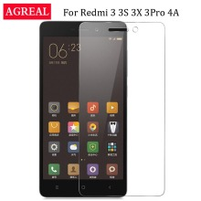 "Buy Xiaomi Redmi 3S Tempered Glass Redmi 3 Pro Screen Protector Protective Film Xiomi 4A Xiaomi Redmi 3s 3 s 3x AGREAL Glass 5"" for $1.09 in AliExpress store"