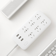 Original Xiaomi Smart Power Strip 2 Socket Outlet Plug Mi Smart socket Home Strip for Home Electronics WiFi App Remote Control(China)