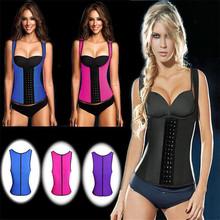 Women's waist training belt Sports Waist Support Plus Size Waist Trainers Corsets Slimming Belt Waist Cincher Hot Shapers(China)