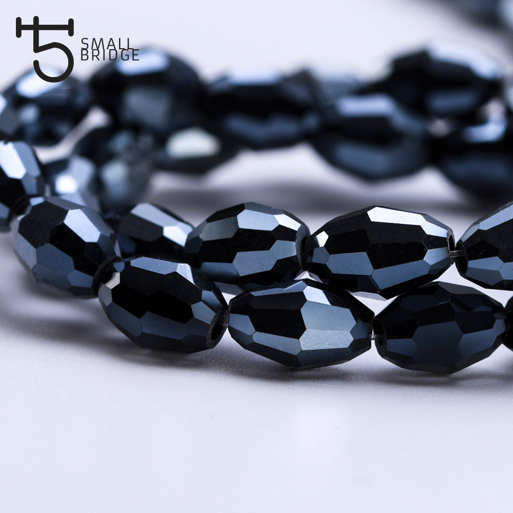 Glass Rice Beads (6)