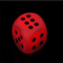 Colorful Dice Shape Touch Switch LED Night Light Festival Party Table Lamp Kids Game Gift Bedside Home Decor Novelty Lighting(China)
