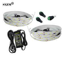 SXZM 10 meter DC12V 5630 5730 led strip flexible led tape 300 leds/roll and 12V6A Power supply indoor led lighting
