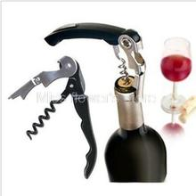 Multi Function Stainless Steel Metal Corkscrew Wine / Beer Bottle Cap Opener