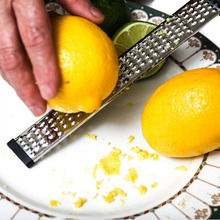 1pc Stainless Steel Cheese Citrus Oranges Fruit Classic Lemon Grater Vegetables Grater Zester Kitchen Cooking Tools ZQ877888(China)
