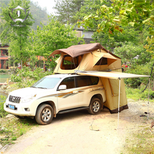 Wnnideo 3-4 Outdoor Safari Camping Tent Hunting Tent 1.6\1.8m Roof& Awning& Side Tent Sash Cotton Anti UV Waterproof Insect Tent