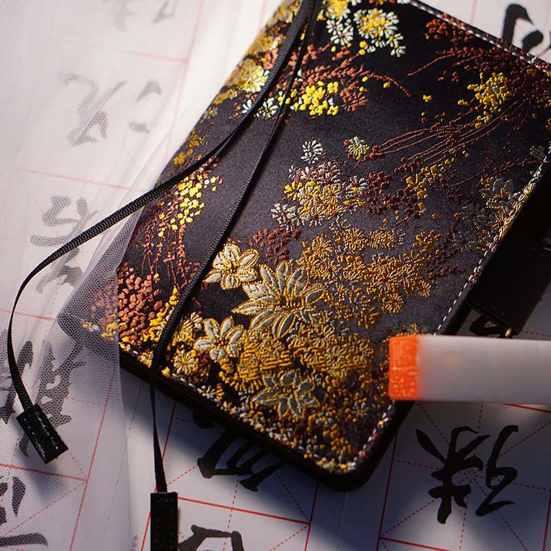 Classic Floral Fashion Hobonichi Style Journal Cover A5 A6 1 Piece