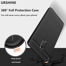 URSHINE Fitted Case For Nokia 6 Case Superior Shockproof Rubber Waterproof TPU Protective Phone Shell Cover To Survive Any Drop(China)