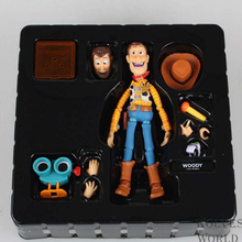 newest Toy Story Woody Series NO. 010 Sci-Fi Revoltech Special PVC children cartoon doll Action Figure Collectible Toy T5837