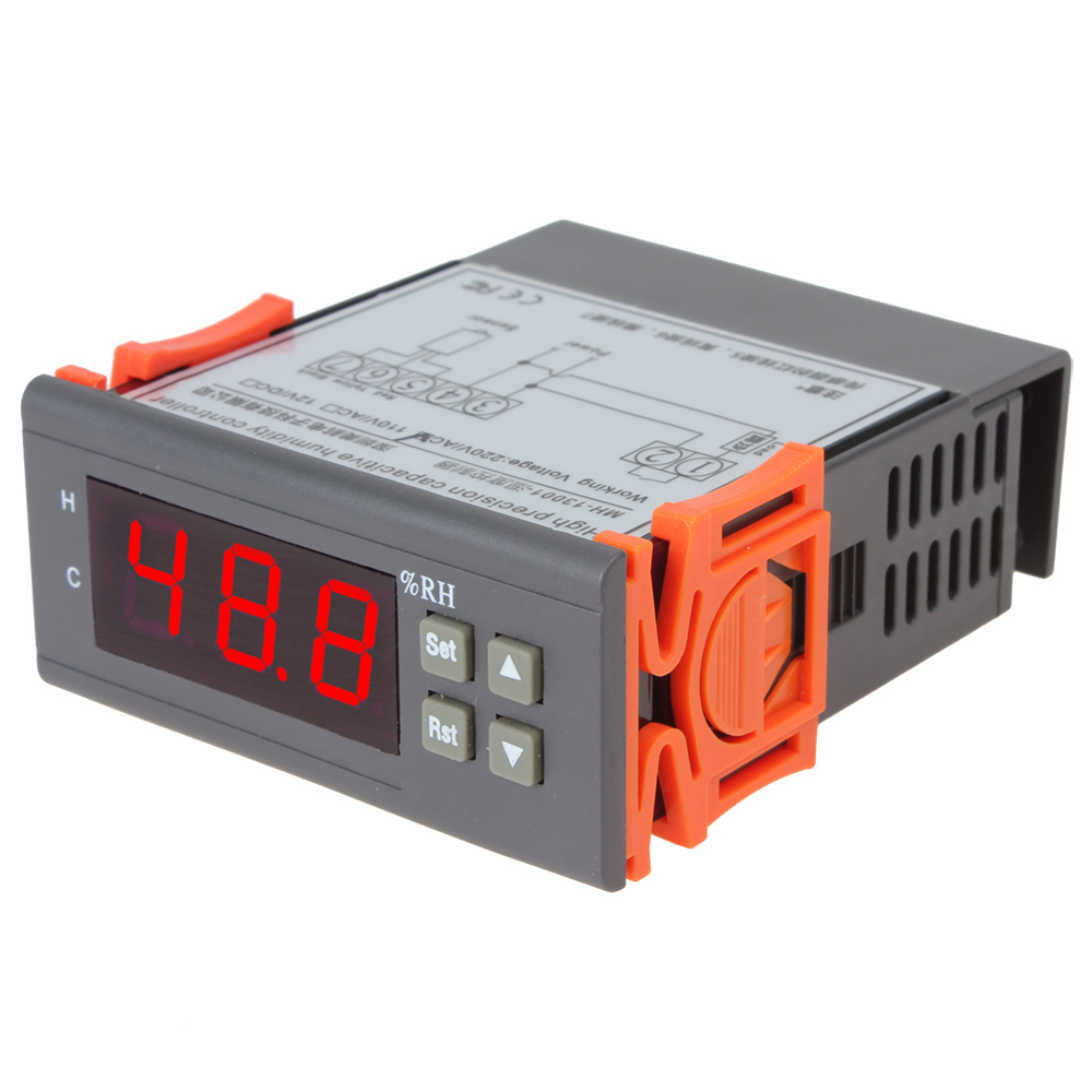 Sale AC 220V Digital LCD Air Humidity Controller Measuring Range 1% ~ 99% with Sensor<br><br>Aliexpress