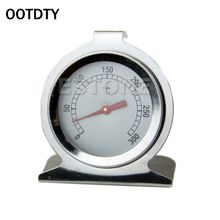 OOTDTY  2017 Stainless Steel Classic Stand Up Food Meat Dial Oven Thermometer Temperature Gauge Gage Brand New