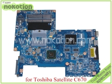 Buy NOKOTION H000033490 toshiba satellite C670 laptop motherboard HM65 DDR3 Nvidia graphics PN 08N1-0NA1Q00 REV 2.1 for $77.28 in AliExpress store