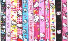 Wholesale 100 Pcs Popular Cartoon Hello Kitty Neck Straps Lanyards Mobile Phone,ID Card,Key Condole belt Mixed M007