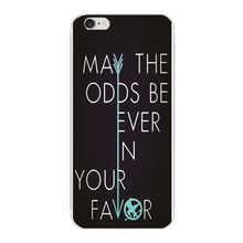 May the odds be ever in your favor cover For Samsung Galaxy S6 S7 edge S3 S4 S5 phone cases For iphone 6s 6 7 plus 5 5S 4S SE 5C