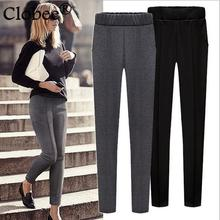 XL-6XL Large Female Pencil Pants 2017 Summer Autumn Stretch Skinny Leggings High Elastic Waist Sexy Lady Slim Hip Trousers WQ439