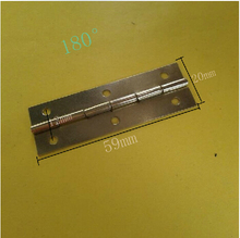 big size hinge 180 degrees 59*20mm iron for furniture box cabinet free shipping(China)