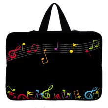 9.7 10 12 13 15 inch Music Note laptop bag tablet sleeve case with handle PC handbag 13.3 15.6 11 14 inch notebook cover pouch