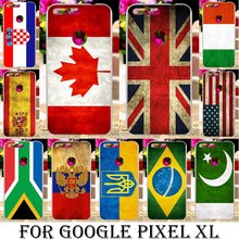 AKABEILA plastic USA SPAIN FRANCE Flag Case For HTC Nexus Marlin Google Pixel XL Google Nexus M1 5.5 inch Case cover Phone Bag(China)