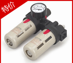 BFC4000 Free Shipping 1/2 Air Filter Regulator Combination Lubricator ,FRL Two Union Treatment ,BFR4000 + BL4000<br>
