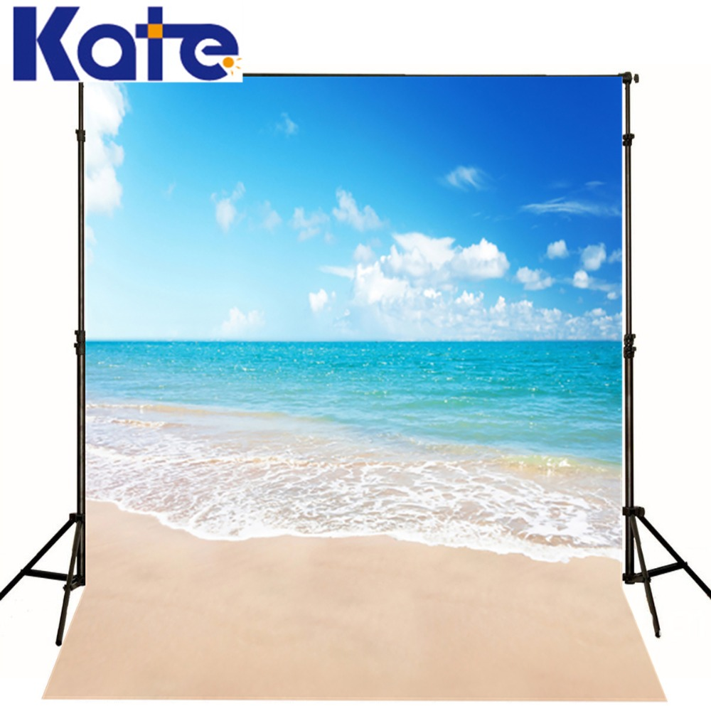 Kate 8x8ft Newborn Scenery Photography Background  Mini Baby Blue Sea Beach Backdrop photography backgrounds for Photos studio<br>