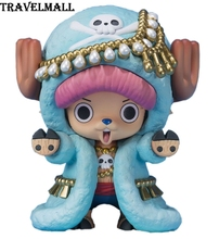 TraVelMall New in Box Anime Tony Tony Chopper 20th Anniversary 6cm PVC Action Figure Doll Model Toy for One Piece Zero kids gift(China)
