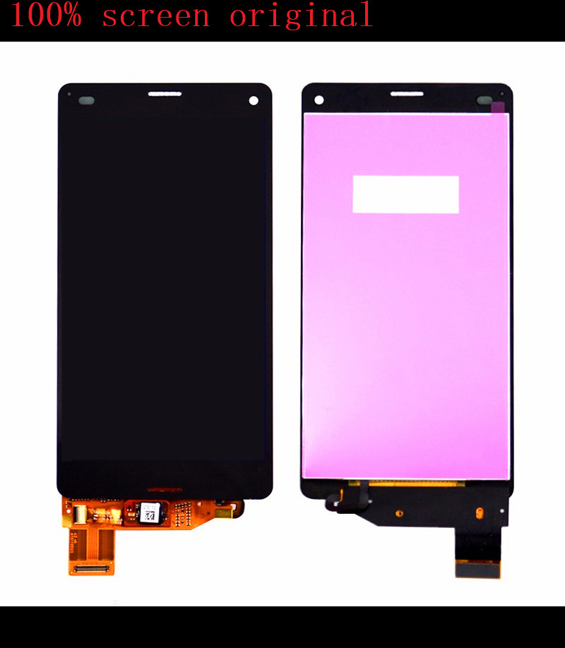 Black White For Sony Xperia Z3 Mini Compact D5803 D5833 LCD Display Touch Screen Digitizer Assembly<br>