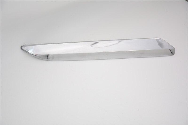 Chrome Rear Bumper Cover Molding Trims Pair For Citroen C5 2008-2015