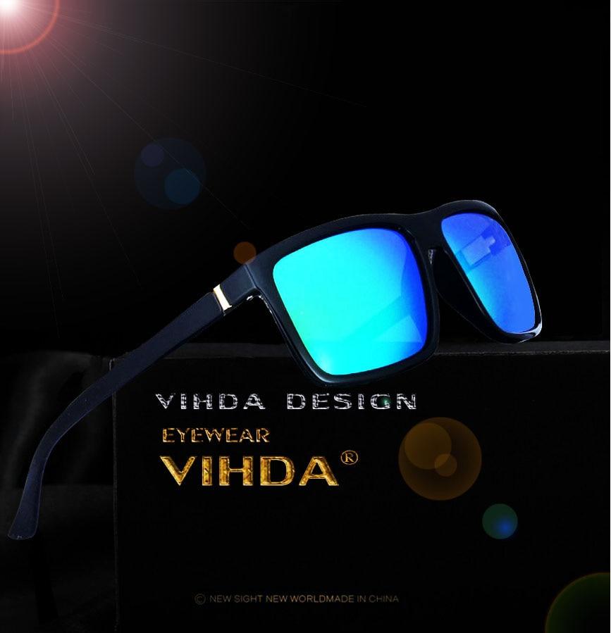 VIAHDA 2016 New TR90 Polarized Sunglasses Men Fashion Male Eyewear Sun Glasses Travel Oculos Gafas De Sol  Only 19 g With box<br><br>Aliexpress