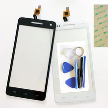 5.0 Inch Cell Phone Touchscreen For Explay Fresh Touch Screen Front Digitizer Glass Sensor Touch Panel+Tools+Sticker