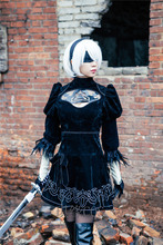 CosplayLove NieR: Automata 2B YoRHa No.2 Type B Cosplay Costume Stock Cusotm Made For Halloween Christmas Party