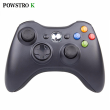 POWSTRO K Wireless Shock Gamepads For XBOX 360 Joystick Remote Controller Game Control for Microsoft Xbox360