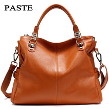 Famous Brand Natural Genuine leather women handbag High Grade Elegant shoulder messenger bags Fashion best bolsas femininas