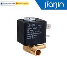 JYZ-3 Normally Closed N/C AC 230V G1/8' Brass Iron Steam Water 2 Position 2 Way Solenoid Valve(China)