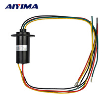 Aiyima NEW 4 Wires 15A 600 VDC/VAC Wind Generator Conductive Slip Ring FOR Wind Turbine(China)