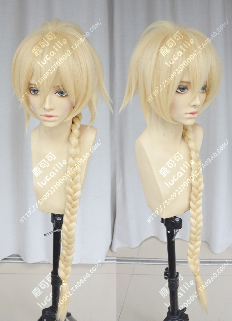 Anime Game Fate/Grand Order Ruler Joan of Arc Jeanne dArc Full Lace Cosplay Wig (Need Styled) Costume Heat Resistant + Cap<br><br>Aliexpress