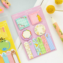 1pcs kawaii animals designs memo pad paper Schedule marker Weekly plan post it sticky notes stationery school supplies 01873