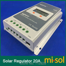 Misol Tracer MPPT Solar regulator 20A, 12/24v, Solar Charge Controller 20A, NEW