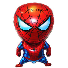 XXPWJ Free shipping 1pcs aluminum balloons party balloons decorated and furnished Spiderman children's toys wholesale