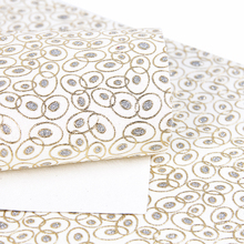 David accessories 20*34cm Glitter Synthetic Leather Fabric for Tissue Kid home textile for Diy Sewing Handbag Material, 1Y57251(China)