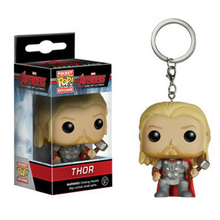Funko Pop Marvel Super Hero Thor Action Figure With Retail Box PVC Keychain Toys Christmas Gift