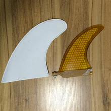 "yellow 6"" STAND UP PADDLE BOARD SUP CENTRE FIN(China)"