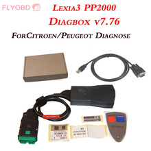 Lite Version Lexia3 PP2000 Diagnostic Tool Lexia-3 Auto Code Reader Scanner With Diagbox V7.76 Software Free Shipping