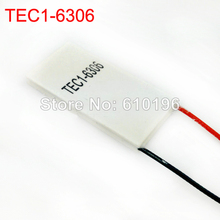 10PCS/LOT TEC1-6306 Thermoelectric Cooler Peltier Cooling System Module 20*40mm 5-6V